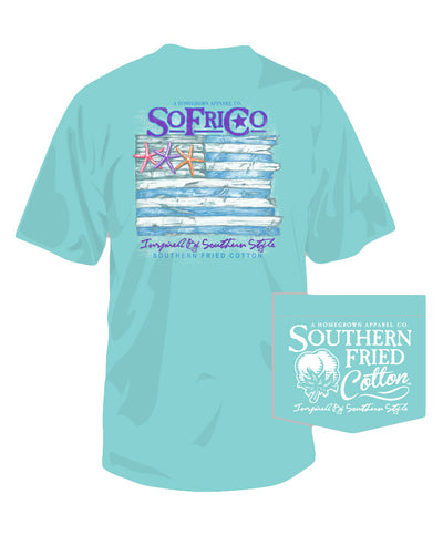 Southern Fried Cotton - Coastal Pledge Tee