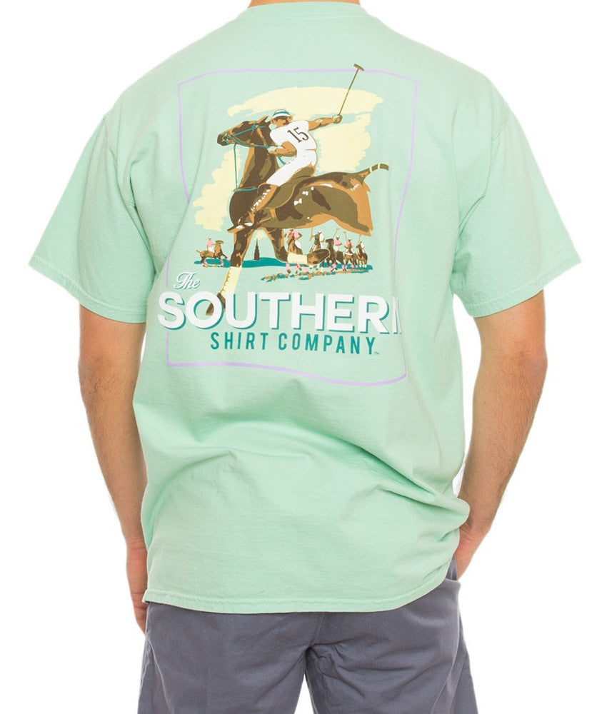 Southern Shirt Co. - The Match Tee - Herbal Mist