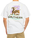 Southern Shirt Co. - The Match Tee - White