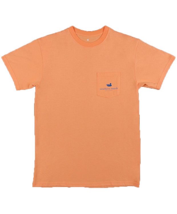 Southern Marsh - Cocktail Collection Tee: Sazerac - Front