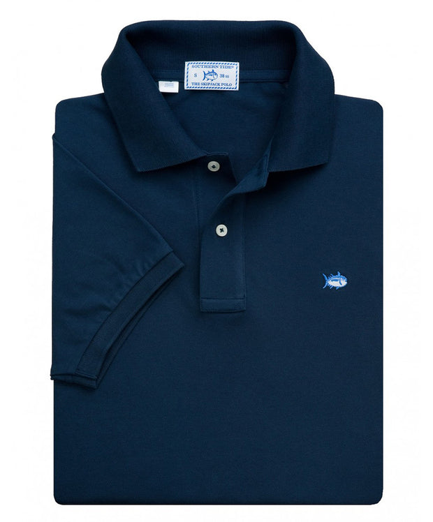 Southern Tide - Classic Skipjack Polo - Midnight Blue