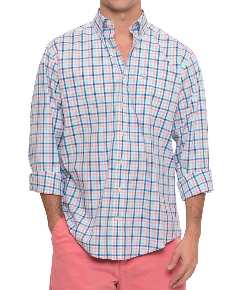Southern Shirt Co - Midtown Check Cotton Club Shirt