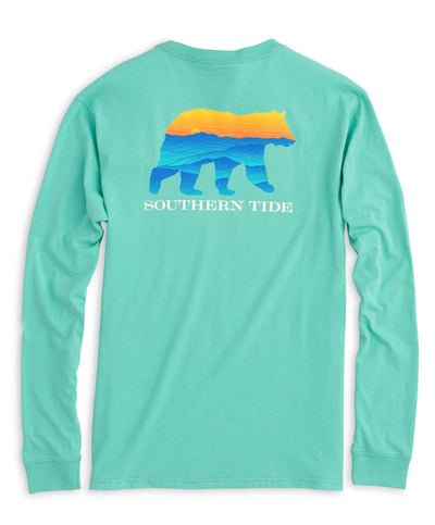 Southern Tide - Blue Ridge Bear Long Sleeve Tee