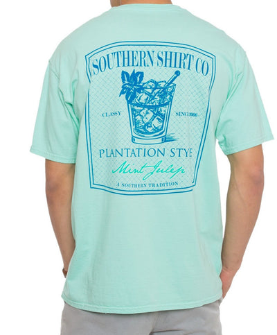 Southern Shirt Co. - Mint Julep Short Sleeve Tee - New Mint
