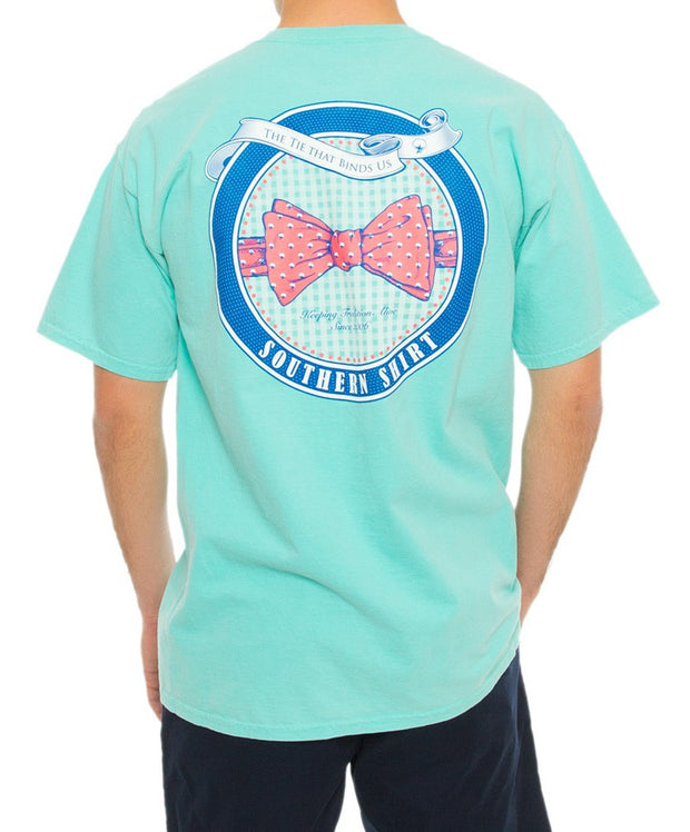 Southern Shirt Co. - Bow Tie Tradition Tee - Chalky Mint