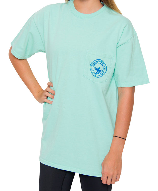 Southern Shirt Co. - Mint Julep Short Sleeve Tee - New Mint Front