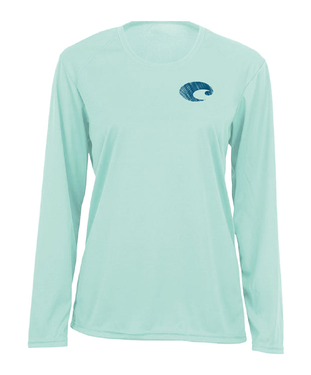 Costa - Women's Tech Performance Paraiso L/S Tee
