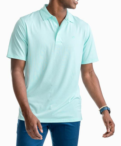 Southern Tide - Fairway Dunes Stripe Performance Polo