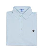 GenTeal - Cay Stripe Performance Polo - P8