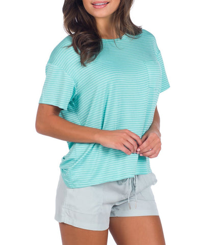 Southern Shirt Co. - Striped Boxy Tee