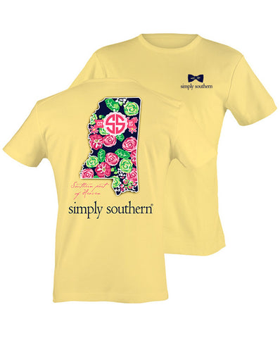 Simply Southern - Southern Part Of Heaven Mississippi Tee
