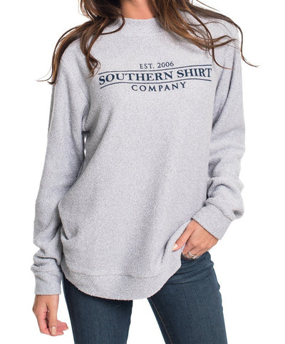 Southern Shirt Co - Heather Loop Knit Terry Pullover