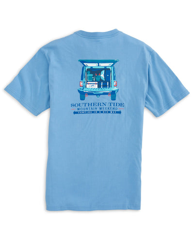 Southern Tide - Mountain Weekend Camping Tee