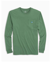 Southern Tide - Embroidered Pocket Long Sleeve Tee