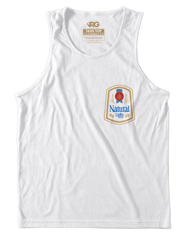 Rowdy Gentleman - Natty Light Vintage Logo Tank Top
