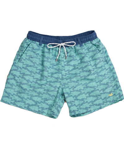 Southern Marsh - Dockside Swim Trunk - Schools Out