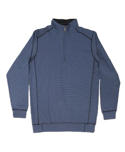Southern Marsh - DownpourDry Striped Stretch Pullover