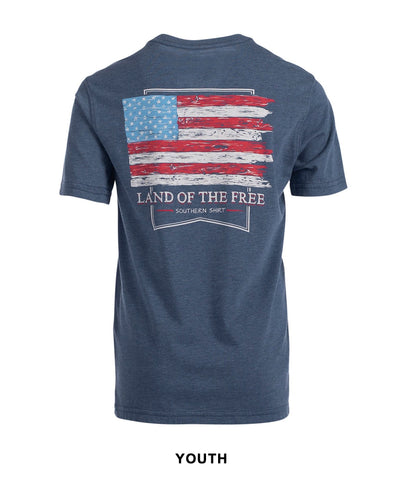 Southern Shirt Co - Boys Land Of The Free Tee