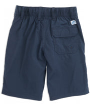 Southern Tide - Youth Swim Tide to Trail Watershorts - True Navy Back