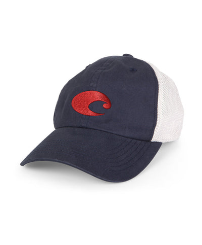 Costa - Fitted Stretch Trucker Hat - Navy