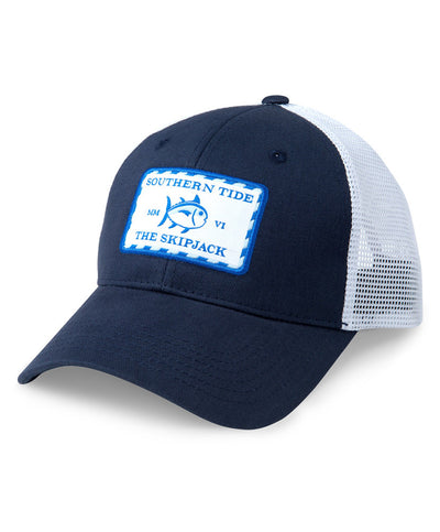 3f3daf206ff80 Southern Tide - Signature Patch Trucker Hat
