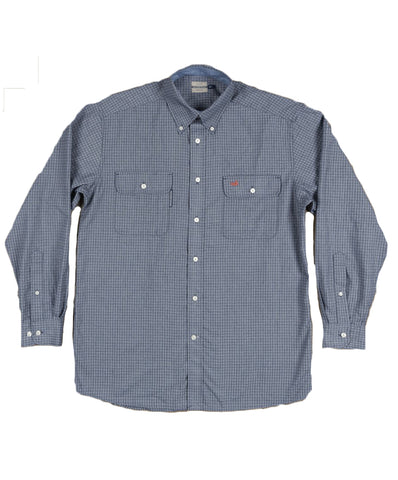 Southern Marsh - Leeward Textured Grid Long Sleeve Shirt