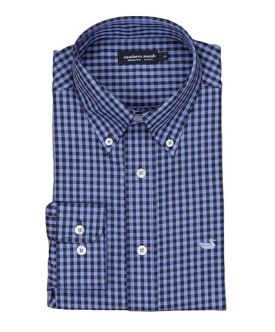 Southern Marsh - Memphis Gingham Dress Shirt