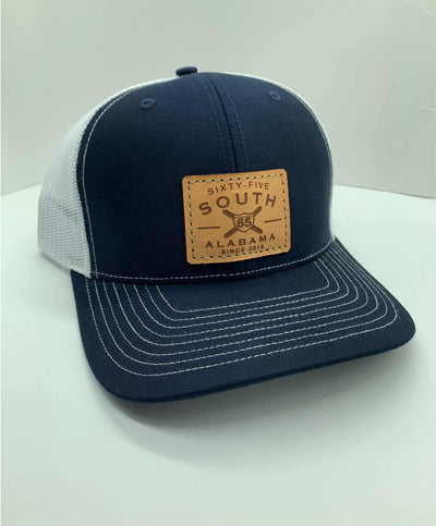 65 South - Leather Patch Hat