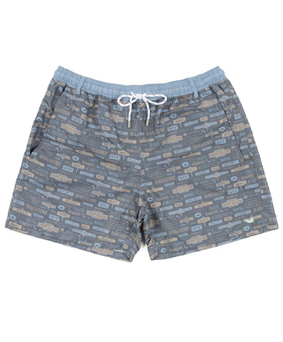 Southern Marsh - Dockside Swim Trunk - Avenues