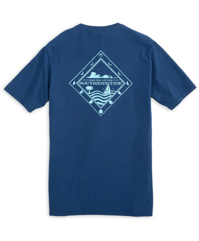 Southern Tide - High Tide Low Tide Tee