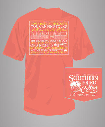 Southern Fried Cotton - Night Belles Pocket T-Shirt