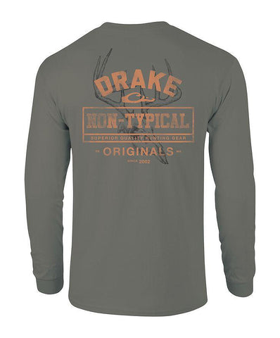 Drake - Nontypical Skull Long Sleeve Tee
