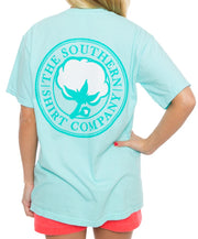 Southern Shirt Co. - Signature Logo Short Sleeve Tee - Ocean Blue