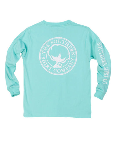 Southern Shirt Co - Youth Seaside Logo Long Sleeve Tee