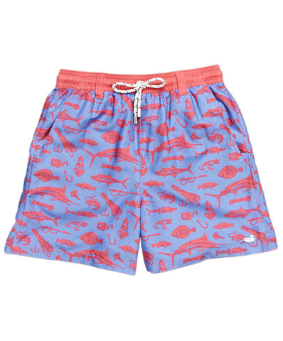 Southern Marsh - Youth Dockside Offshore Angler Swim Trunk
