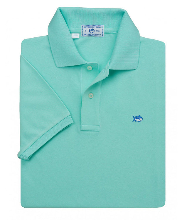 Southern Tide - Classic Skipjack Polo - Offshore Green