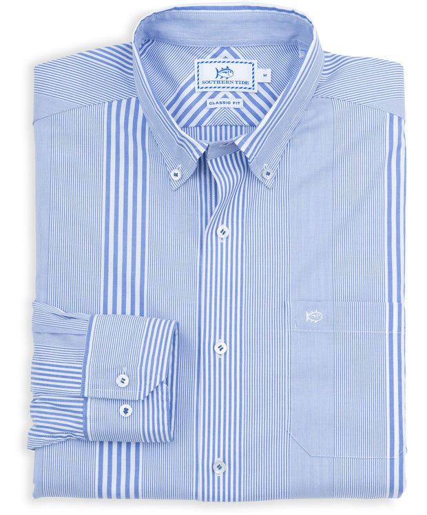 Southern Tide - Old Town Stripe Sport Shirt