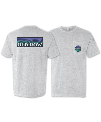 Old Row - Waves Short Sleeve Pocket Tee
