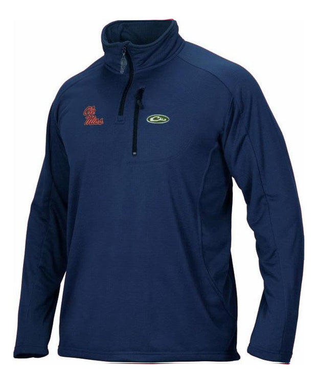 Drake - Ole Miss Breathlite 1/4 Zip