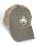Southern Shirt Co. - Mesh Back Logo Hat - Olive/Tan