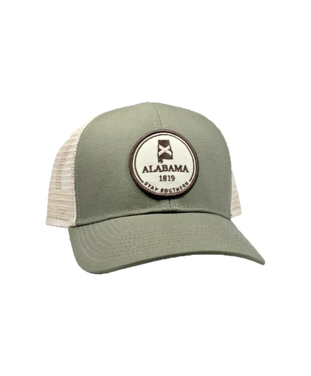 The State Company - AL Circle Patch Mesh Back Hat