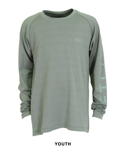 Aftco - Youth Samurai 2 Performance Long Sleeve Crew