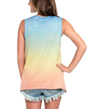Southern Shirt Co - Ombre Swing Tank