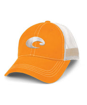 Costa - Mesh Hat - Orange/White