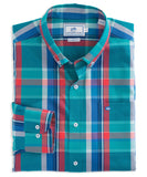 Southern Tide - Outrank Plaid Classic Sport Shirt - Atlas Green