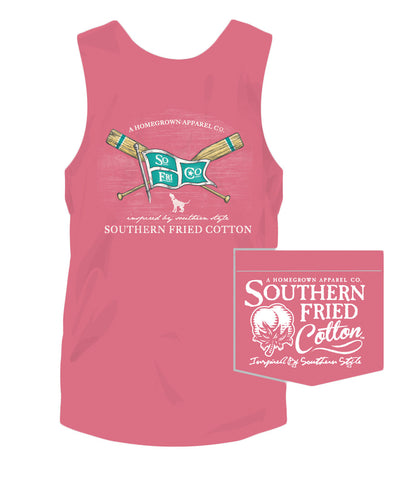 Southern Fried Cotton - Paddles & Pride Tank