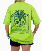 Southern Shirt Co. - Palmetto Club Short Sleeve Tee - Lime