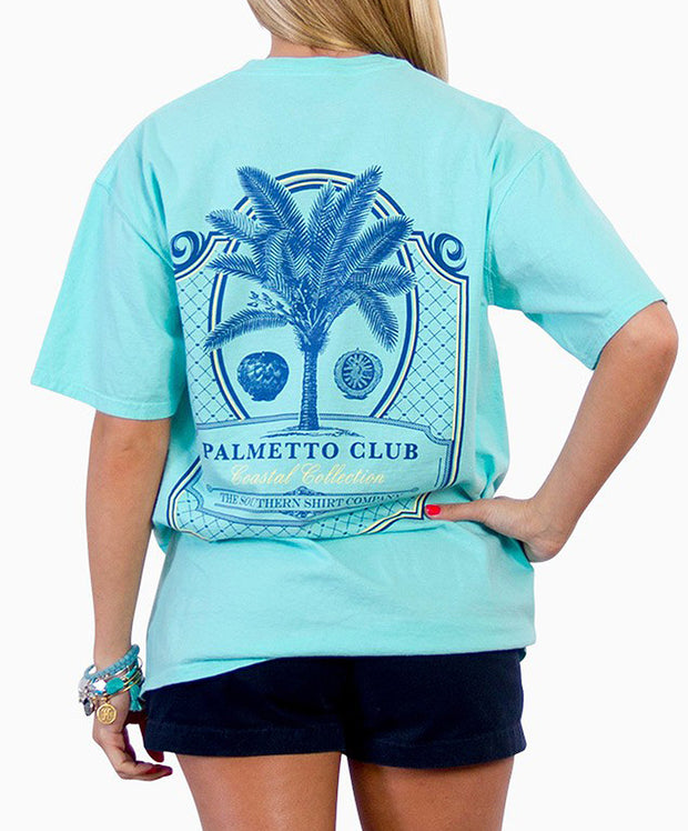 Southern Shirt Co. - Palmetto Club Short Sleeve Tee - Sea