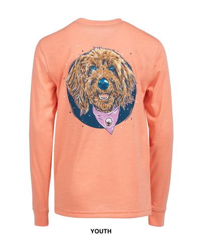 Southern Shirt Co - Youth Molly Doodle Long Sleeve Tee
