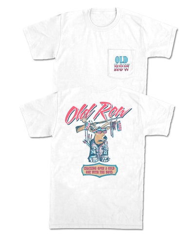 Old Row - Party Buck USA Pocket Tee